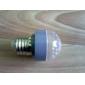 E26/E27 1 W 18 Dip LED 100 LM Warm White Decorative Globe Bulbs AC 220-240 V