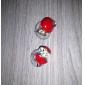 Women's Mini Apple Studs(Diameter:0.8cm)