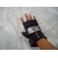 Gloves Inspired by Naruto Cosplay Anime Cosplay Accessories Gloves Black PU Leather Male / Female