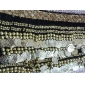 Polyester With 248 Coins Dance Belt For Ladies More Colors