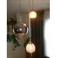 moderna hängande ljus i metall världen funktion