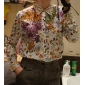 TS Dovetail Printed Blouse Shirt
