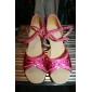 / chaussures de danse similicuir cheville straplatin / performance femmes gosse (plus de couleurs)
