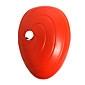 Mask Inspirerad av Naruto Madara Uchiha Animé Cosplay Accessoarer Mask Röd PVC Man