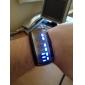 Men's Watch Digital Blue LED Digital Plastic Band