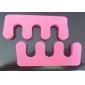 2PCS Pro Cotton Toe Separators Nail Art Tool