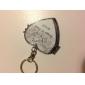 personlig rustfritt stål kompakt speil favør - sommer vind