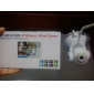 wanscam® interior ptz ip câmera de vigilância dia noite sem fio (1/4 de polegada sensor CMOS de cor)