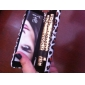 2PCS Leopard Waterproof Eye Lash Expansion Lengthening Curling Mascara Set(1 Mascara+1 Fibers)