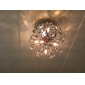 Modern K9 Crystal Chandelier with 6 Lights in Globe Shape