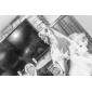 레이스 applique 에지과 하나가 계층 팔꿈치 웨딩 베일
