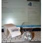 Lâmpadas de Foco de LED GU10 4W 240 LM K Branco Frio 3 LED de Alta Potência AC 85-265 V MR16