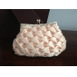 Gorgeous Satin Shell With Austria Rhinestone Evening Handbags/ Clutches More Colors Available