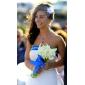 bruiloft bloemen 20cm x 10cm prachtige tule huwelijk bruids-witte corsage