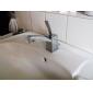håndvasken vandhane i post moderne lysshow med krom finish vandhane