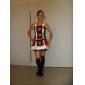 Cosplay Kostymer/Dräkter / Festklädsel Prinsessa / Vampyr Halloween Kostymer svart Lappverk Topp / Kjol Halloween / Karnival Kvinna