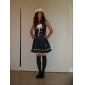 Cosplay Kostymer/Dräkter Uniformer Festival/Högtid Halloween Kostymer Vit / Bläck blå Klänning / Hattar Halloween / Karnival Kvinna
