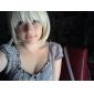 Cosplay Peruker Blue Exorcist Shiemi Moriyama Guld Kort Animé Cosplay Peruker 40 CM Värmebeständigt Fiber Kvinna