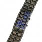 Orologio LED (Blu) Cobra,unisex,senza quadrante -Nero