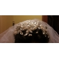 Fashion Lace med rhinestone / Pearl Dame Fascinators