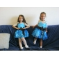 Flower Girl Dress - Baile Coquetel Sem Mangas Cetim/Renda