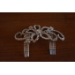 Austrian Drilling Five-Leaves Flower Shaped Haircomb