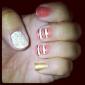 12pcs 3D bricolage style Décorations ongles Autres