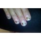 2PCS Outils Dotting Set pour Marbleizing outil d'art d'ongle (couleur aléatoire)