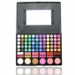 78 couleurs de fard à paupières 3en1 professionnel 60 12 rouge à lèvres 6 blush palette de maquillage cosmétique avec miroir et 2 éponge