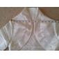 3/4-length Sleeves Satin Special Occasion Evening Jacket/ Wedding Wrap Bolero Shrug