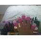 Caoutchouc acrylique 10pcs enlever doigtiers ongles kit
