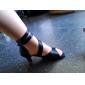 Zapatos de baile (Negro/Rojo/Azul/Oro) - Danza latina/Salón de Baile - Personalizados