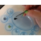 1pcs ongle en plastique Palettes de couleurs des ongles (couleur aléatoire)