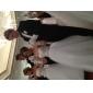 Ball Gown Plus Sizes Wedding Dress - Ivory Floor-length Sweetheart Tulle
