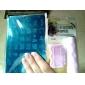 nail art stamping / stamper stencils placa modelo de unhas / moldes para pontas das unhas de acrílico série mls no.5