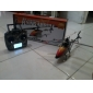 2,4 g empat saluran rc single-rotor lcd remote control helikopter mainan