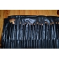 32pcs Goat/Pony hair Makeup Brushes set Professional Black blush/foundation brush shadow/eyeliner/brow/lip brush with Free Case cosmetic brush kit