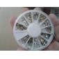 yemannvyou®240pcs nail art gouden gemengde klinknagel vormen acryl strass (willekeurige kleur)