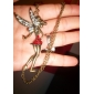 Women's Vintage Fairy Diamond Bib Necklace
