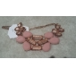 Women's Sweet Candy Color Resin Necklace