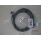 Cable HDMI V1.3 Premium Dorado Plateado 1080P para Xbox 360/PS3/HDTV/Proyector (6FT, 1'8M)