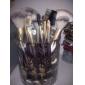 18 ensembles de brosses Pinceau en Poils de Chèvre / Pinceau en Poils de Poney / Poil Synthétique / Pinceau en Nylon / ChevalVisage /