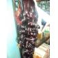 griffe clips synthétiques ondulées extra-longs noirs morceaux queues de cheval cheveux