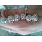 boda tocados alfileres de cabeza 6 piezas magníficas de los rhinestones / flores más colores disponibles