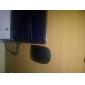mini 2.4GHz trådlös 800 / 1200dpi optisk mus med USB-mottagare (svart)