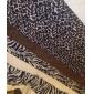 Simple&Opulence® 3-Piece Aarhus Leopard/Zebra Stripe Poly Velvet Duvet Cover Set