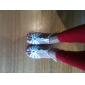Anpassade Kvinnors Mousserande Glitter T-Strap Latin / ballroom dance skor (Fler färger)