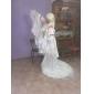 cosplay kostume inspireret af chobits chii deluxe hvid gulvlang kjole