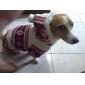 pethingtm réveillon de noël confort manteau à capuche chaud pour les chiens (XS-XL, couleurs assorties)