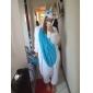 kigurumi Pyjamas Unicorn Collant/Combinaison Fête / Célébration Pyjamas Animale Halloween Bleu Mosaïque Toison de Corral Kigurumi Pour